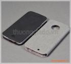 """Bao da cầm tay Moto X4 (5.2""""), Motorola flip leather case, hiệu Vili"""