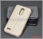 Bao da LG K10 (2018) flip case, hiệu Vili