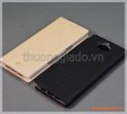 "Bao da Sony Xperia XA3 (5.9""), bao da cầm tay nắp gập mở kiểu flip, hiệu Vili"