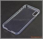"""Ốp lưng nhựa cứng iPhone X (5.8""""), màu trong suốt"""