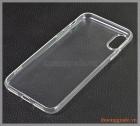 """Ốp lưng silicone iPhone X (5.8""""), hiệu HOCO, siêu mỏng trong suốt"""