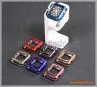 Ốp viền silicone Apple Watch 38mm màu sắc sáng bóng thời trang
