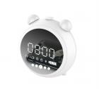 Loa đồng hồ báo thức JKR-8100 (bluetooth V5.0, đồng hồ, báo thức, FM, đèn ngủ)