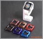 Ốp viền silicone Apple Watch 42mm màu sắc sáng bóng thời trang