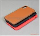 """Ốp lưng da chống sốc iPhone X/iPhone Xs (5.8""""), chống va đập hiệu Mobest"""