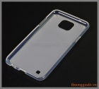 Ốp lưng silicone LG X Cam _ TPU case (viền trong lưng trắng mờ)