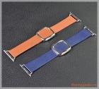 Dây đeo tay đồng hồ Apple Watch 38mm thế hệ 1/2/3 (dây da, khóa hình vuông)