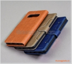 Bao da Samsung Galaxy S10+, G975, Bao da cầm tay, chất liệu da bò, hiệu Kaiyue