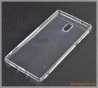 "Ốp lưng silicone Nokia 3 (5.0""), màu trong suốt, hiệu VU case"