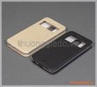 Bao da LG K10 (2017) flip case, hiệu Vili, có cửa sổ view