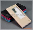 Bao da Huawei Mate 20 X, bao da cầm tay nắp gập có cửa sổ view, hiệu Vili
