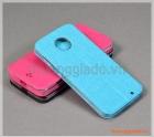 Bao da cầm tay Moto Z3 Play, Motorola flip leather case, hiệu Vili