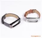 Dây thay thế cho Mi Band 2 (Hiệu MIJOAS, PU wristband)