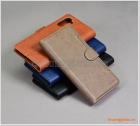 Bao da Samsung Galaxy Note 10 (N970), bao da cầm tay, chất liệu da bò, hiệu Kaiyue