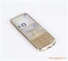 Vỏ Nokia 6700c Gold