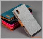 "Bao da cầm tay iPhone XR (6.1""), hiệu Goospery, CANVAS DIARY"