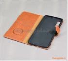 Bao da Samsung Galaxy A70, bao da cầm tay, chất liệu da bò, hiệu Kaiyue
