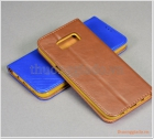 Bao da Samsung Galaxy S8 Plus/ G955, bao da cầm tay, chất liệu da bò thật