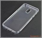 Ốp lưng silicone Samsung J7 Plus/ C710 (màu trong suốt, hiệu VU case)