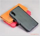 """Bao da iPhone XS (4.7""""), bao da cầm tay, nắp gập mở, hiệu G-CASE, Honour Series"""