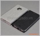 Bao da cầm tay Moto E4 (bản Mỹ) Motorola flip leather case, hiệu Vili