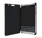 Bao da BlackBerry Passport Silver Edition Leather Flip Case chính hãng