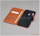 Bao da Samsung Galaxy A20/ A30, bao da cầm tay, chất liệu da bò, hiệu Kaiyue