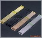 Dây đeo tay thay thế Samsung Gear S3, Gear S3 classic, gear s3 frontier (mẫu 2, lưới thép)