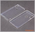 Ốp lưng silicone Mi Mix 2S màu trong suốt