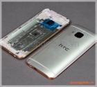 Thay vỏ HTC One M9 màu trắng bạc viền gold