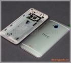 Nắp lưng HTC One (M7) màu trắng bạc (không kèm khung vành viền màn hình)