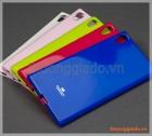 "Ốp lưng silicone Sony Xperia XA1 Ultra (6.0""), hiệu GOOSPERY, JELLY Series"