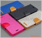 Bao da thời trang Samsung Galaxy S8/ G950 (Hiệu GOOSPERY, CANVAS DIARY)