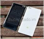 """Thay kính lưng Mi Note/ Mi Note Pro (5.7"""") màu trắng logo màu vàng gold"""
