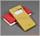 """Bao da iPhone 7 (4.7""""), iPhone 8 (4.7"""") flip leather case, có cửa sổ, hiệu Vili"""