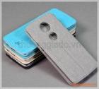 Bao da cầm tay Moto E5 Plus, Motorola flip leather case, hiệu Vili