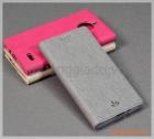 Bao da Moto E4 (Motorola) flip leather case, hiệu Vili