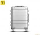 Vali nhôm Xiaomi 20 inch Metal Travel Suitcase màu trắng bạc
