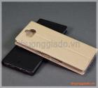 Bao da Sony Xperia XA3 Ultra, bao da cầm tay nắp gập mở kiểu flip, hiệu Vili