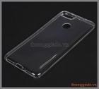 Ốp lưng silicone Asus ZenFone Max Plus M1 ( ZB570TL ), màu trong suốt