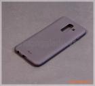 Ốp lưng silicone Samsung Galaxy A6+/ A6 Plus (hiệu Vu Case), màu đen