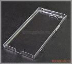 Ốp lưng nhựa cứng Sony Xperia XZ Premium, trong suốt, clear case