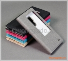 """Bao da Huawei Mate 20 (6.5"""") flip leather case, có cửa sổ view, hiệu Vili"""