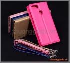 Bao da Asus Zenfone Max Plus M1 (ZB570TL), Wallet Leather Case, HANMAN, CANVAS DIARY