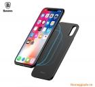"""Bộ pin sạc dự phòng không dây (5000mAh)+ốp lưng hiệu Baseus cho iPhone X (5.8"""")"""