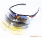 Kính mắt thể thao OW (4 mắt kính với 4 màu khác nhau)