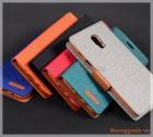 Bao da thời trang Samsung J7 Plus/ C710 (ngoài bọc vải hiệu GOOSPERY, CANVAS DIARY)