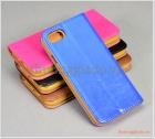 """Bao da iPhone 7 (4.7"""")/ iPhone 8 (4.7""""), da bò, mặt mịn, nhiều màu sắc"""