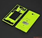 Thay vỏ HTC 8X chính hãng màu xanh Neon