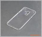 Ốp lưng silicone Samsung Galaxy A6+/ A6 Plus (hiệu Vu Case), màu trong suốt